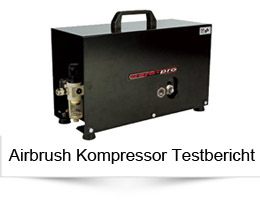 Airbrush Kompressor im Test